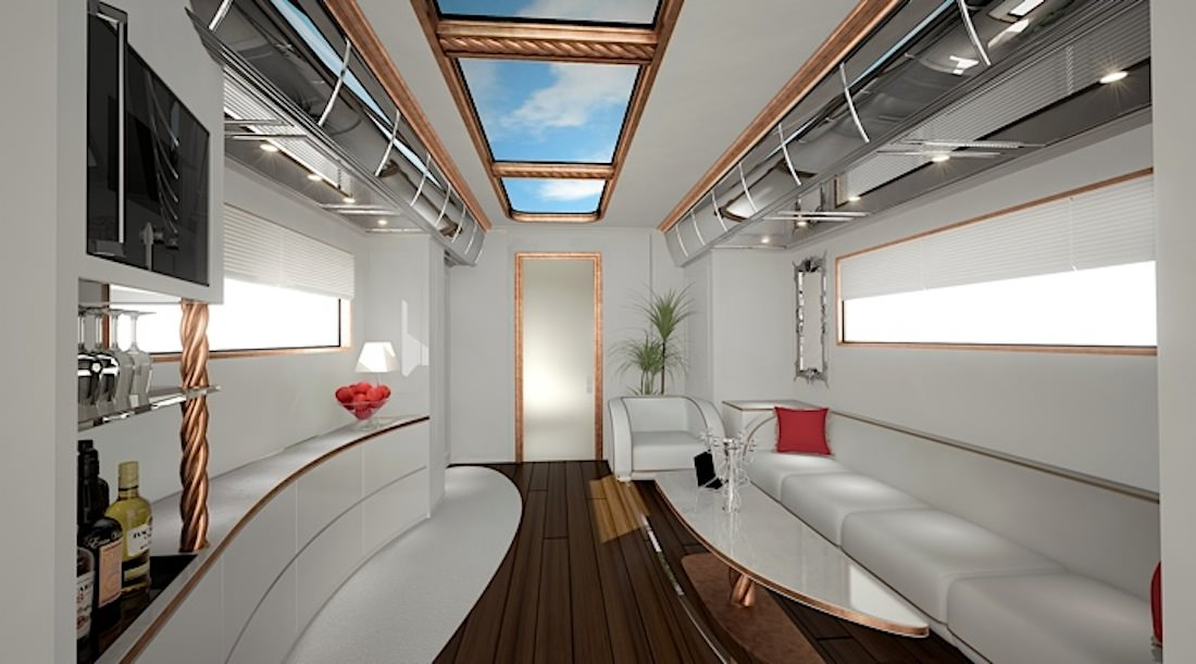 The eleMMent Marchi Mobile unleashes its new luxury campervan