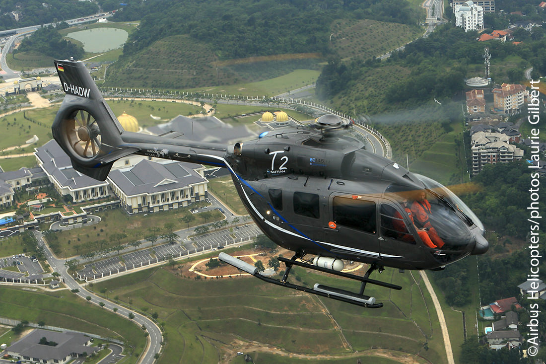 The Civil Helicopter EC145 T2