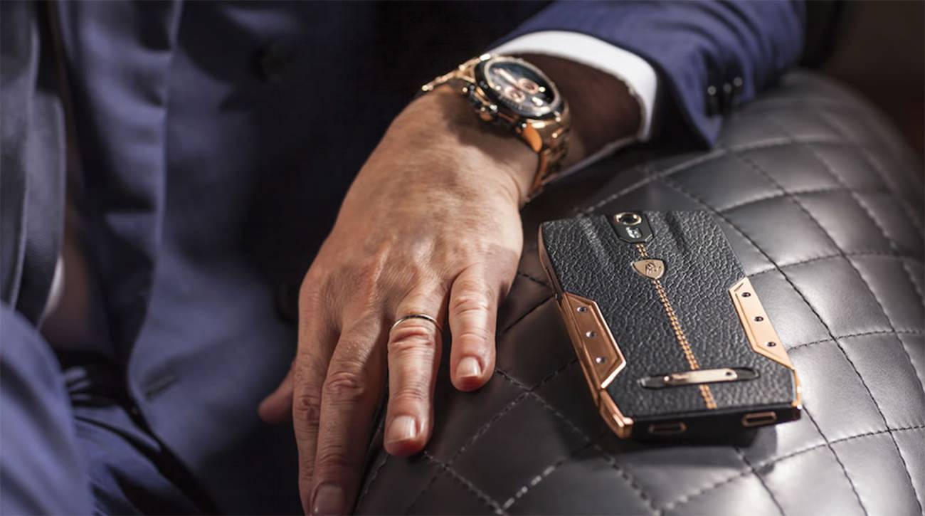 The new premium class smartphone Tonino Lamborghini 88 Tauri