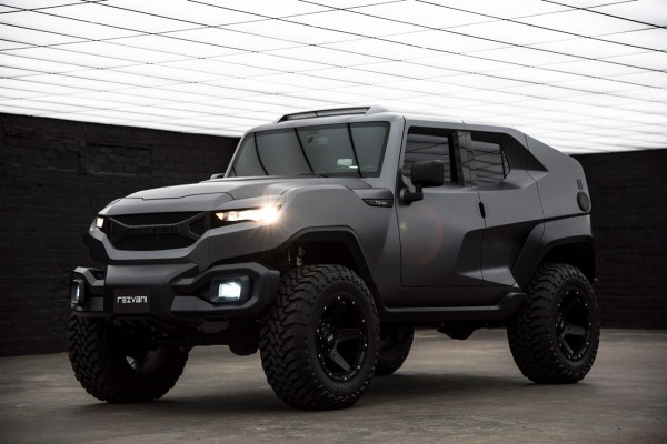 Rezvani Tank take up all the challenges with the new