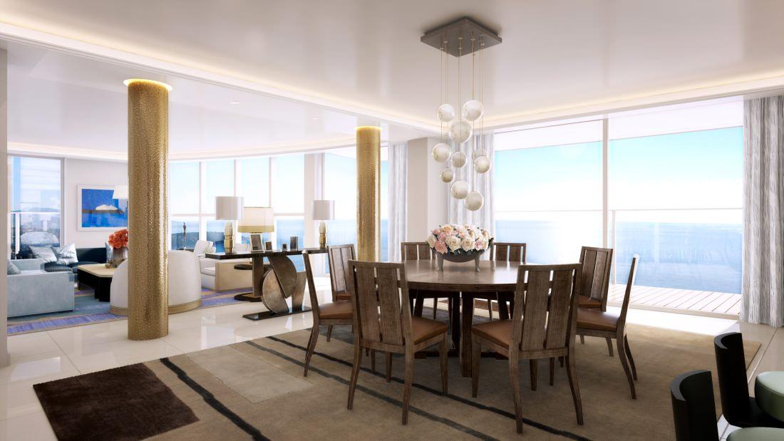 Monaco  Un penthouse de 3300m2 sera install dans la tour