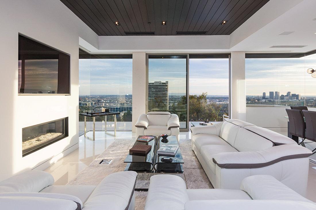Sierra del Mar 9380 une demeure de luxe  Beverly Hills