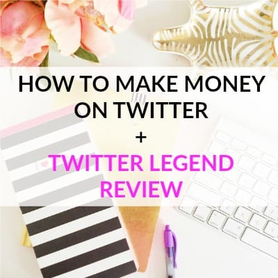 How to make money on twitter and twitter legend course review
