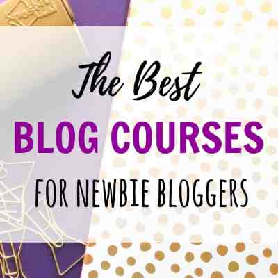 The Best Online Courses For Newbie Bloggers