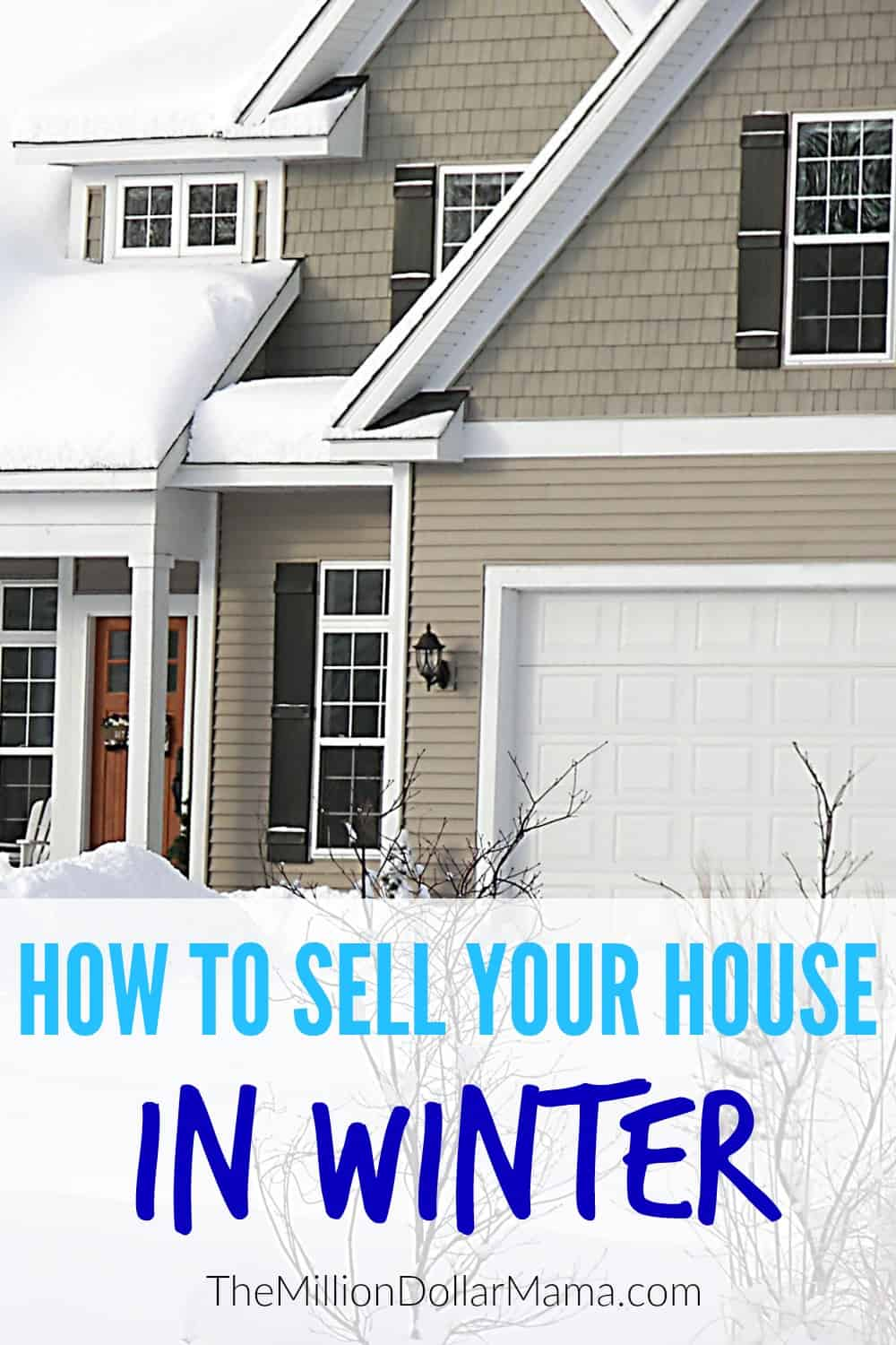 How to sell a house in winter - these winter home selling tips will help you embrace a notoriously difficult time of year and help get your house sold!