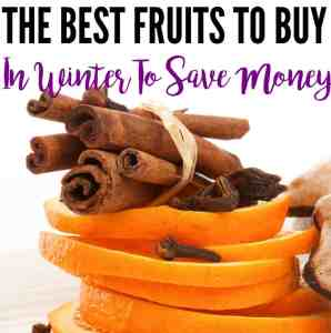 The Best Fruits To Buy In Winter To Save Money