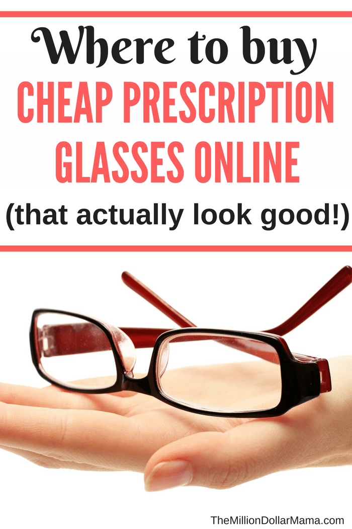 Where to buy cheap prescription glasses online that look good and are high quality!