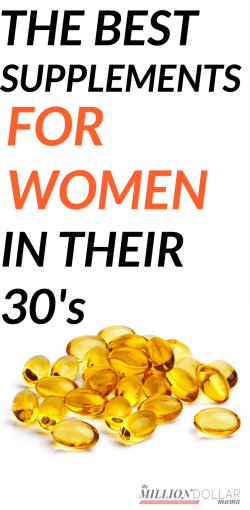Supplements for Women in Their 30s | Best Supplements For Women | Best Daily Supplements for Women | The Best Supplements For Women In Their 30's