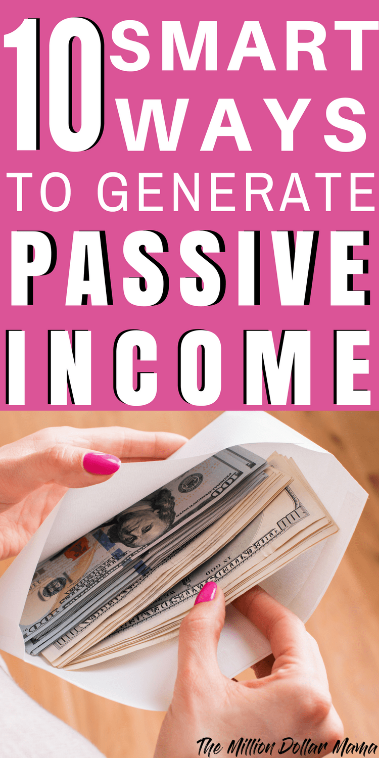 Passive income ideas, side hustles and passive income streams