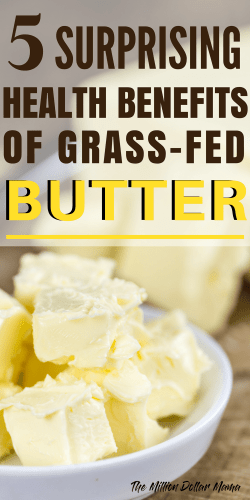 With the rise in popularity of the keto diet, I thought I'd do some research on the health benefits of grass-fed butter. Click through to read out the surprising health benefits!