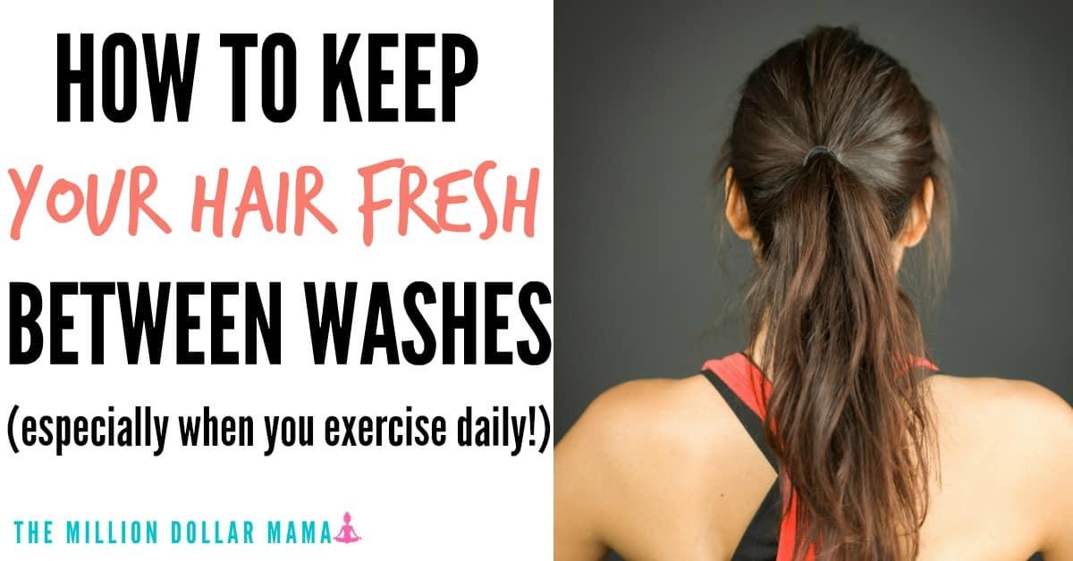 Should I wash my hair everyday if I exercise?
