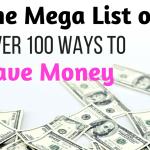 100+ Simple Ways to Save Money