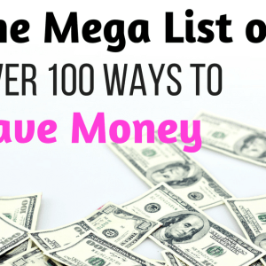 100+ Simple Ways to Save Money