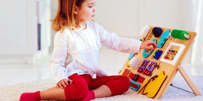The Best Sensory Boards for Toddlers That'll Keep Them Entertained for Hours