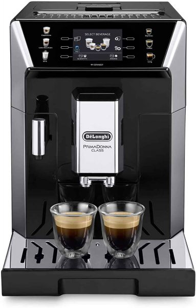 DeLonghi ECAM 550.65.SB PrimaDonna Class bean-to-cup machine black