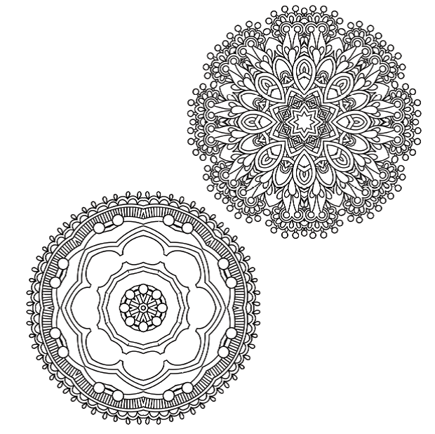 FREE COLOURING PAGES: 5 stunning mandalas to colour from