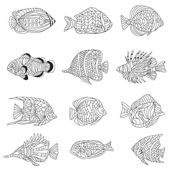 COOL COLORING PAGES: 6 free printable images from The