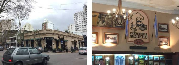 "Scenes from Modelo restaurant - ""The personal"" touch"" in a big Argentine city"