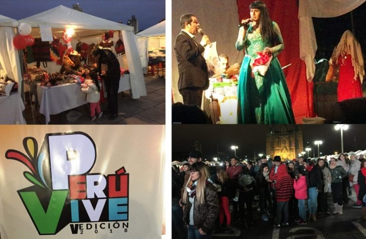 "Four images from Vive Peru festival - ""The personal"" touch"" in a big Argentine city"