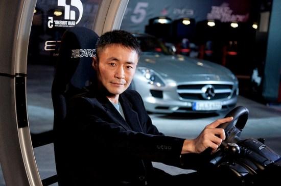 Kazunori Yamauchi, CEO of Polyphony Digital