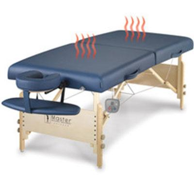 The Heated Massage Table