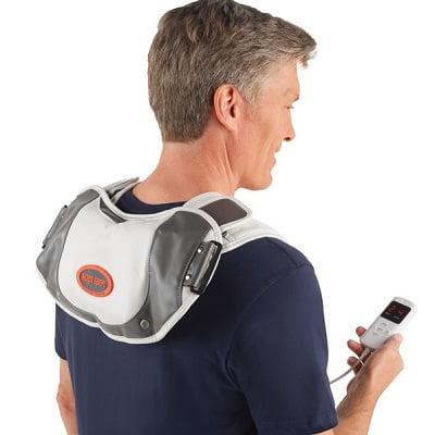 The Percussive Shoulder Massager