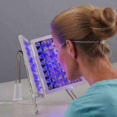 The LED Facial Rejuvenator