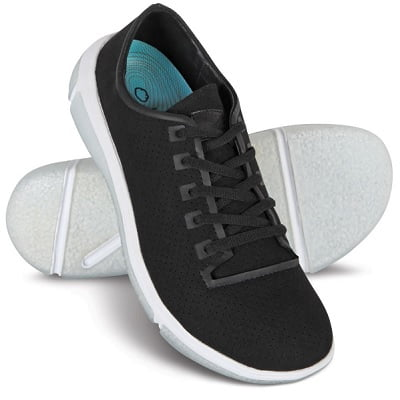 knee pain sneakers relieving shoes walking sole relieve oxford osteoarthritis patented helps hammacher