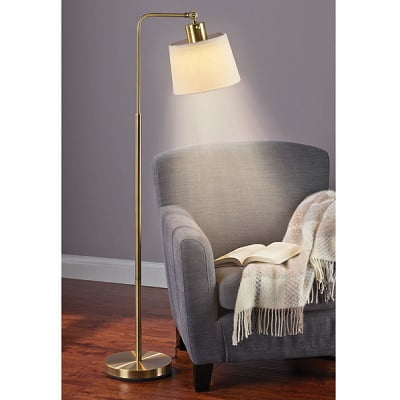 The Eyestrain Reducing Variable Color Reading Lamp