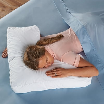 The Shoulder Supporting Comfort Pillow Design To Provide