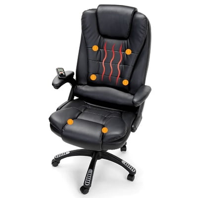 The Heated Massaging Executive Chair