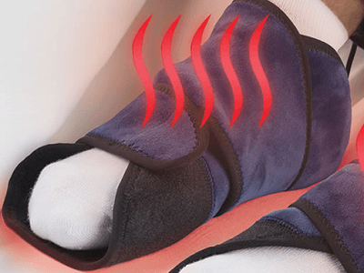 The Pain Relieving Heated Foot Wrap 1