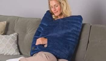 The Massaging Heated Wrap