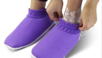 The Moisturizing Heated Booties