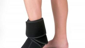 The Pain Relieving Cold Compression Ankle Wrap
