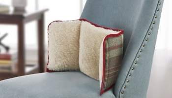 Irish Wool Lumbar Support Cushion