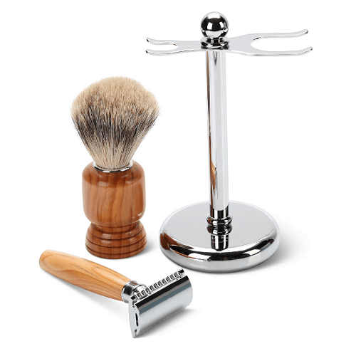 Sherwood Forest Yew Shaving Set1