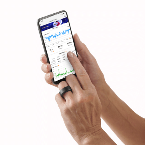 Home Oximetry Wellness Tracker1