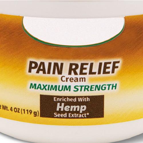 Hemp Seed Oil Pain Cream1