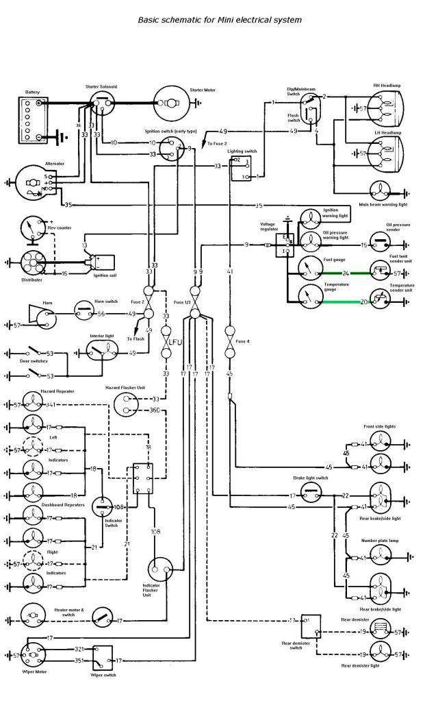 Mini Wiring Diagram Light Switch Wiring Diagram • Wiring