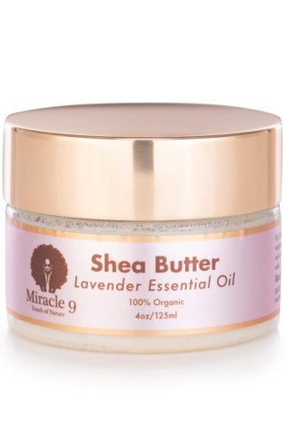 Miracle 9 Lavender Infused Shea Butter