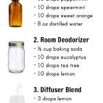 3 DIY Essential Oil Air Freshener Recipes