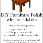 Homemade Furniture Polish with Essential Oils