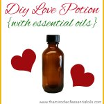 Homemade Love Potion Blend with Essential Oils