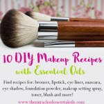 DIY Beauty & Makeup Recipes with Essential Oils