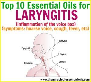 Top 10 Essential Oils for Laryngitis
