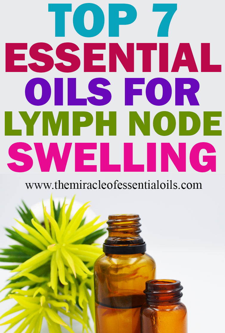 hight resolution of  essential oils for lymph node swelling