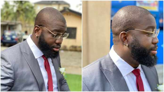 Drama as groom walks out of wedding after being told to remove earrings