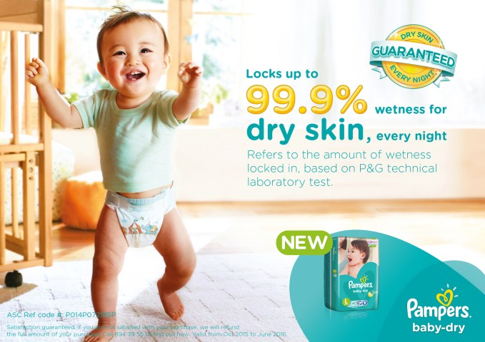 new pampers baby dry challenge