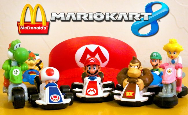 Mario Kart 8 In Mcdonald S Happy Meal Philippines The